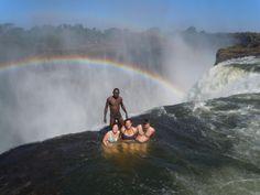 Victoria Falls Devil's Pool - Zimbabwe