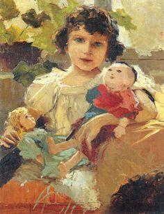 Gouache, Doll Painting, Asian Doll, Vintage Photographs, Doll Accessories, Antique Dolls, Illustration Art, Illustrations, Vintage Postcards