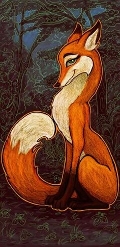Foxy art