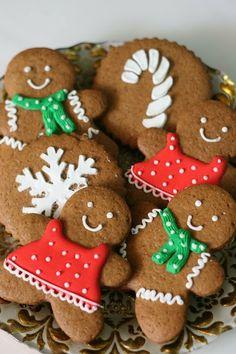 Galletas de jengibre y Buttery Melt- Away Cookies - Las delicias del buen vivir