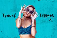 ≫∙ Check out this 50 #tattoos that could inspire your next ink job: #wanderlust mode ➳ @innatelygypsea