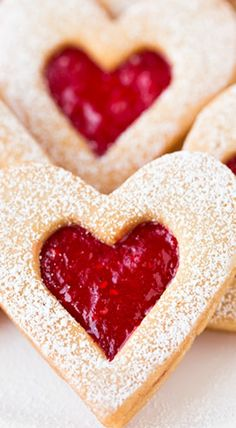 Linzer Cookies Recipe ~ Fun for Valentine's Day and Christmas but perfect for any time of the year!