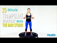 Looking for a trampoline workout? Check out the free trampoline workout videos at JumpSport. Watch a trampoline workout video and start working out like a pro. Training Fitness, Cardio Training, Weight Training Workouts, Health Fitness, Fitness Workouts, Strength Training, Trampolines, Mini Trampoline Workout, Rebounder Trampoline