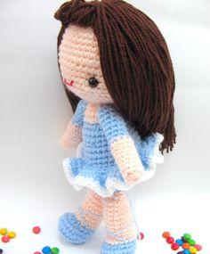 amigurumi girl doll ballet free pattern
