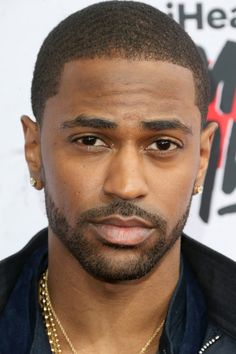 Rapper Big Sean attends the iHeartRadio Music Awards at the Forum in Inglewood, Calif., on April 3, 2016.