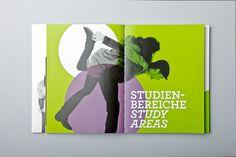 Prospectus for the Art University Linz 2011Design by Letitia Lehner & Julian Weidenthaler