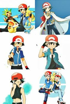 Ash Ketchum ^.^ ♡ I give good credit to whoever made this I found this in m.vk.com/amourshipping