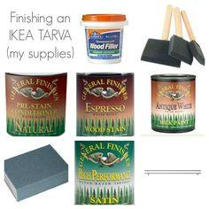 Need more kitchen storage?  Transform an IKEA TARVA bedroom dresser into a kitchen sideboard! | www.allthingsgd.com