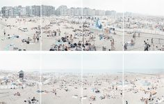 Knokke Polyptych, from Landscapes with Figures (8 works) by Massimo Vitali on artnet Auctions