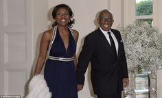 Al Roker and his wife Deborah Roberts were also invited to the dinner, with the weather fo...