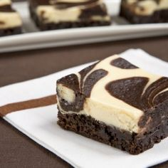 Low Calorie Cheesecake Brownies