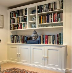 Built in Cupboards (Fitted Cabinets) Built In Shelves Living Room, Bedroom Cupboard Designs, Victorian Living Room, Living Room Storage, Interior Design Living Room Warm, Living Room Shelves, Built In Cupboards, Living Room Remodel, Home Living Room