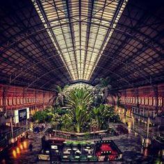 Esto es la estació Atocha
