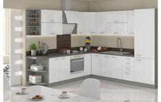 Set de bucatarie UPA1 Kitchen Modular, Kitchen Sets, Kitchen Remodel, House Plans, Kitchen Cabinets, Furniture, Home Decor, Beige, Decorations