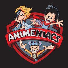 Movie Animeniacs T-Shirt $12.99 Anime mashup tee at Pop Up Tee!