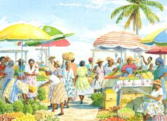 Marketing by Anne Miller, x watercolour print Ann Miller, Watercolor Print, Caribbean, Gallery, Marketing, Watercolours, Painting, Times, Art