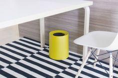 Tubelor Homme by Ideaco   minimalist waste bin