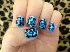 Leopard Print Nails, Polish, Beauty, Vitreous Enamel, Beauty Illustration, Nail, Nail Polish, Nail Polish Colors