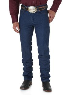 Mens Wrangler Premium Performance Cowboy Cut Slim Fit Jeans 36Mwzpd - Texas Boot Company is located in Bastrop, Texas. www.texasbootcompany.com