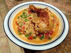 SCD Latin American 'Coliflor' con Pollo {Chicken w/ Cauliflower} (*Use dry white wine & fresh diced tomatoes...)