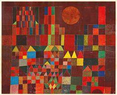 Burg und Sonne, 1932 by Paul Klee.