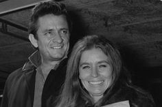 Johnny Cash June Carter Performing