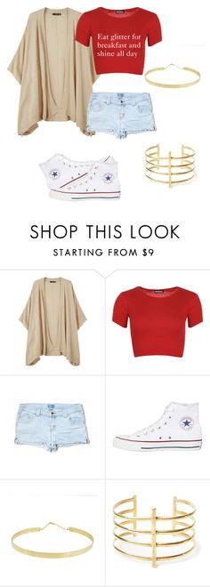 """Tumblrous"" by bodotami on Polyvore featuring MANGO, WearAll, Lily, Converse, Lana and BauXo"