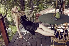 For Love and Lemons Midnight Dress / Black Boho Rock, American Gothic, Holiday 2014, Nice Legs, For Love And Lemons, Fashion Images, Boho Gypsy, Her Hair, Editorial Fashion