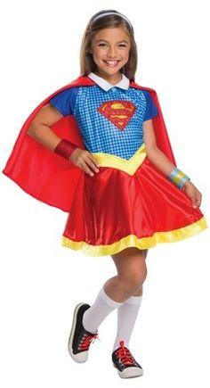 DC Super Hero Girls DC® Superhero Girls Supergirl Deluxe Costume