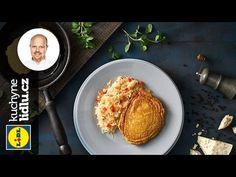 Vepřové řízky v bramborákovém těstě - Roman Paulus - RECEPTY KUCHYNE LIDLU - YouTube Lidl, Eggs, Roman, Breakfast, Youtube, Food, Morning Coffee, Meal, Egg