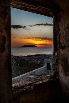 Marettimo, vista dal castello di Santa Caterina a Favignana. Foto di Mario Parisi. #yummysicily