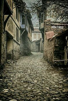 The medieval village Cumalıkızık in Bursa, Türkiye Medieval Village, Medieval Houses, Italy Art, All Nature, Turkey Travel, Fantasy Landscape, Art And Architecture, Turkish Architecture, Travel Photos