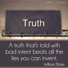 The #truth about truth
