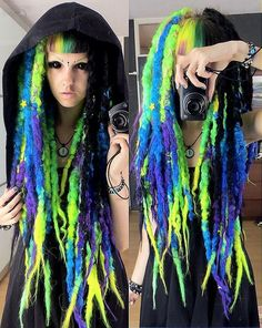 Image result for how to make wool dreadlocks
