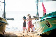 Bright morning sun amongst the fishing boats, Talalla Beach, Tangalla, Sri Lanka (www.secretlanka.com)