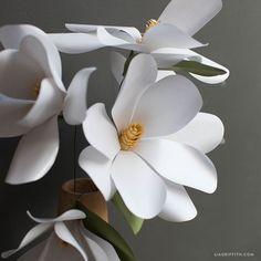 Paper Magnolia Flower