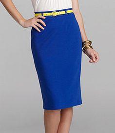 Cremieux Mindy Pencil Skirt
