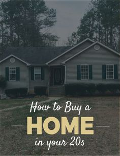 How to Buy a Home in Your 20s // PaperLark Studio buy a home buying your first home #homeowner