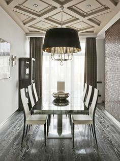 Here is another project to dress up your home, this time the ceiling. Coffered ceiling reminds of the Old-English affluent elegance. It adds character and depth to any room. Coffering is also brilliant to hiding unsightly exposed beams and other ceiling imperfections and to modernise a dated