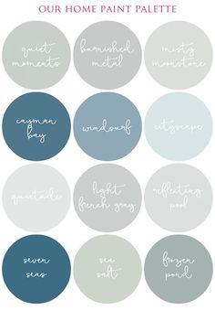 Gorgeous Color Palette IHeart Organizing: Making The Most Of Your Home Decor