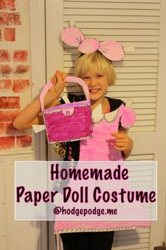 Homemade Paper Doll
