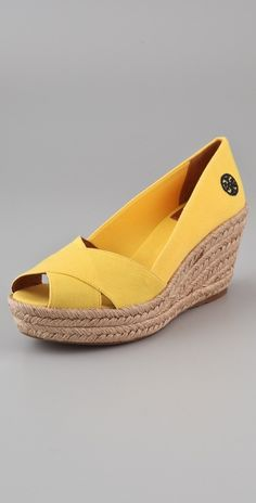 Tory Burch Filipa Wedge Sandals thestylecure.com