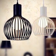 Envío gratis moderno restaurante luz colgante de hierro iluminación de la lámpara breve lámparas mesa de bar luz del proyecto(China (Mainland))