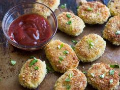 Vegan No-Chicken Nuggets