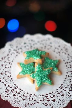 12 Days of Christmas Cookies:  Sugar Cookies #traditional #holiday