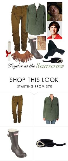Ryder as the Scarecrow by samevans17 on Polyvore featuring Equipment, G-Star, Hunter and Orlebar Brown