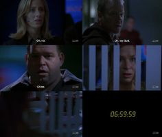 Audrey Raines, Jack Bauer, Edgar Stiles, Chloe O'Brian; Season 5 — and this was where I started bawling!!!!!!!