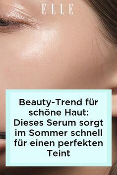 Schöne und reine Haut im Sommer? Dieses Serum ist der neue Beauty-Trend für einen perfekten Teint. Erfahre mehr auf Elle.de! #beauty #haut #hautpflege #skincare