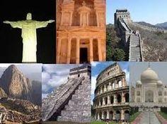 Resultado de imagem para 7 maravilhas do mundo moderno