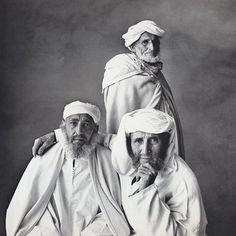 Irving Penn - Three Village Elders, Khenifra, Morocco 1971